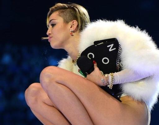 Miley Cyrus satire