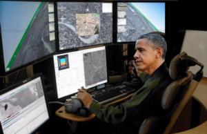 obama drone satire