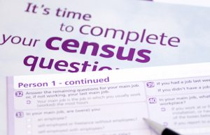 Census form Australia